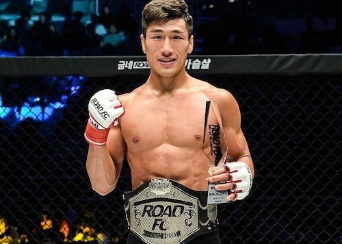 sm ROAD FC BW Champ Kim Min Woo