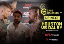 Cage Warriors 106 blood