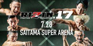 RIZIN 17 results