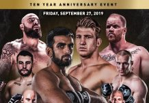 Unified MMA 38 Results
