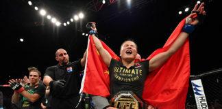 Zhang Weili, Chinese Market UFC