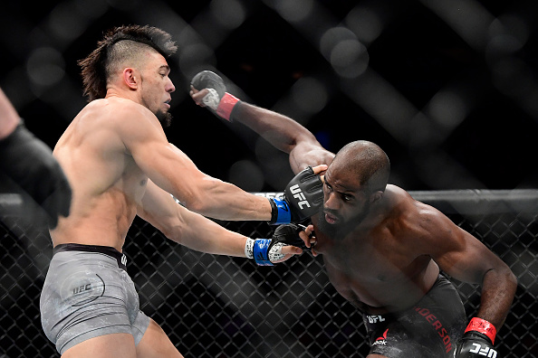 UFC 244 Corey Anderson Punching Johnny Walker