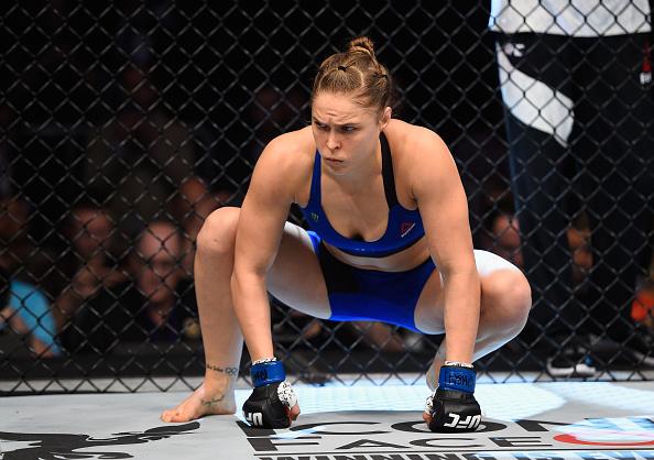 Ronda Rousey - women in mma