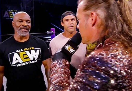 Mike Tyson AEW Dynamite
