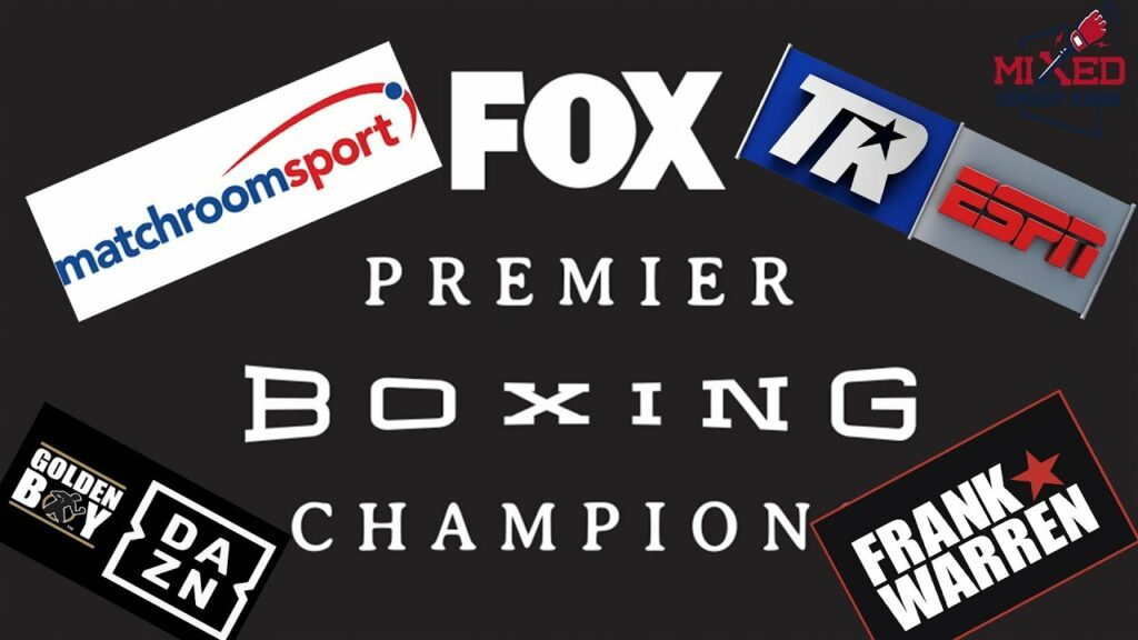 Different entities involved in boxing, compared to the ufc.