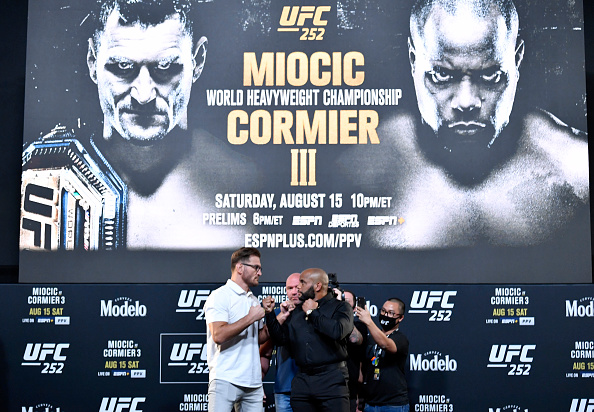 UFC 252 Results
