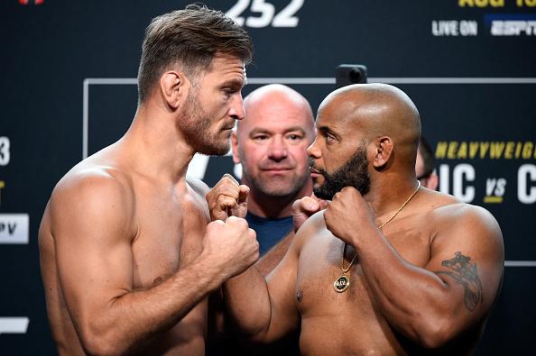 UFC 252 Weigh-in