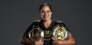 Amanda Nunes - 2020 pound-for-pound rankings