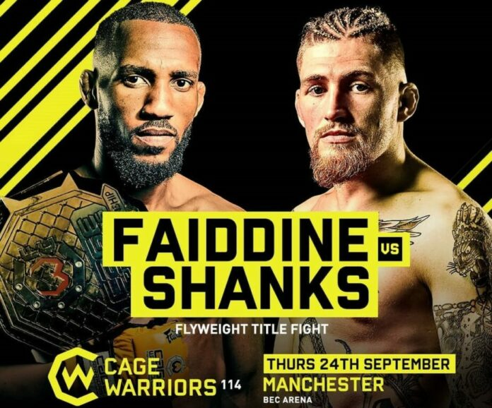Cage Warriors 114 Results