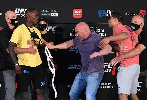 UFC 253 Weigh-in