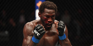 Jared Cannonier at UFC 254