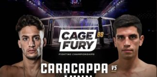 Cage Fury FC 88 Results