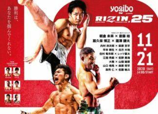 RIZIN 25 Results