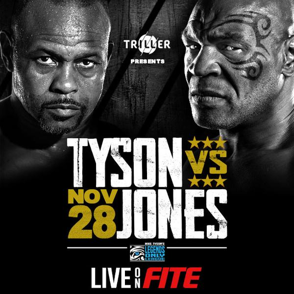 Tyson Vs Roy Jones