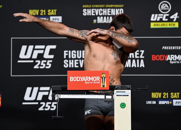UFC 255 Weigh-ins