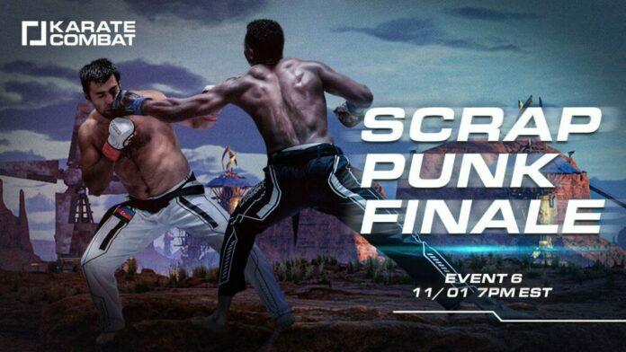 Karate Combat: Scrap Punk 3