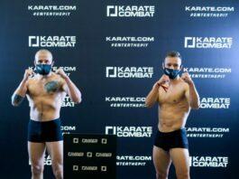 Karate Combat Results