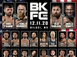 Bare Knuckle FC 15 Results