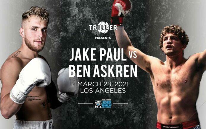 Jake Paul vs Ben Askren Boxing Match Set For 2021 - MMA Sucka
