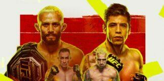 UFC 256 Countdown