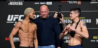 UFC 256 Results - Best Fights of December - Deiveson Figueiredo vs. Brandon Moreno