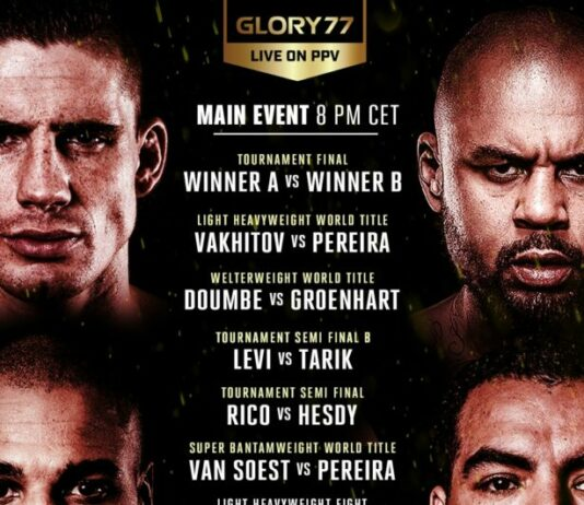 GLORY 77 Results