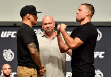 Nate Diaz to Dustin Poirier