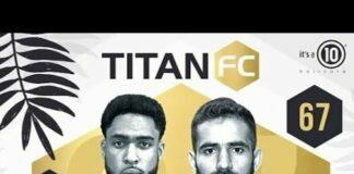 Titan FC 67 Results