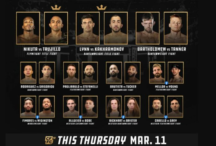 Cage Fury 92 Results
