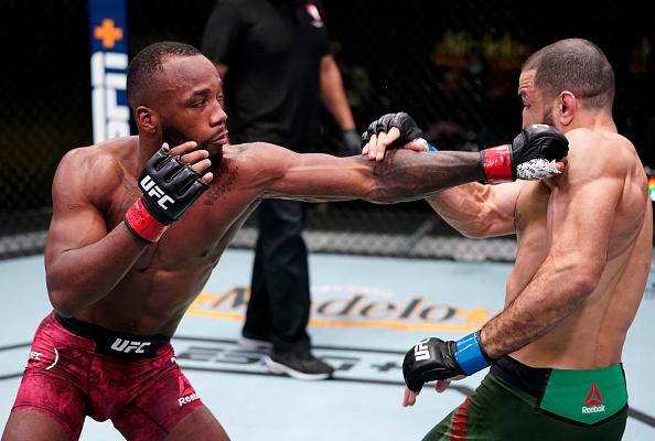 Leon Edwards and Belal Muhammad fight to No Decision
