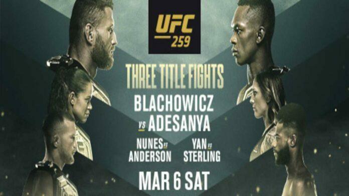 UFC 259 pre-fight press conference