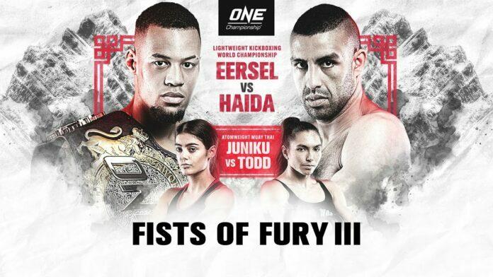 ONE Fists of Fury III