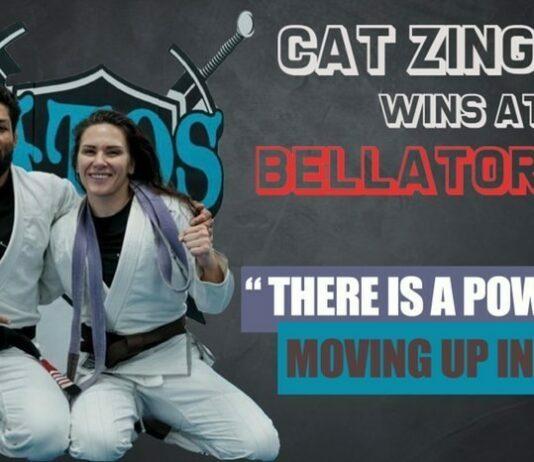 Cat Zingano - Bellator 256