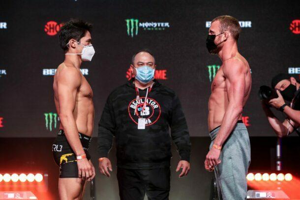 Goiti Yamauchi vs. Dan Moret - Bellator 256 weigh-in results
