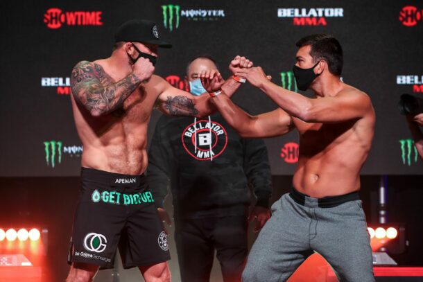 Ryan Bader vs. Lyoto Machida - Bellator 256 weigh-in results