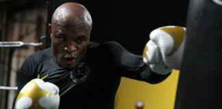 Anderson Silva Boxing