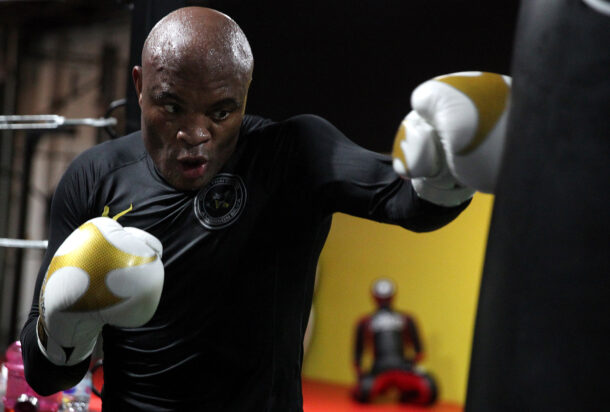Anderson Silva Open Workout