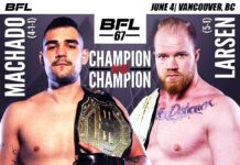 Caio Machado vs. Christian Larsen - BFL 67 Main Event
