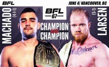 Caio Machado vs. Christian Larsen - BFL 67 Main Event