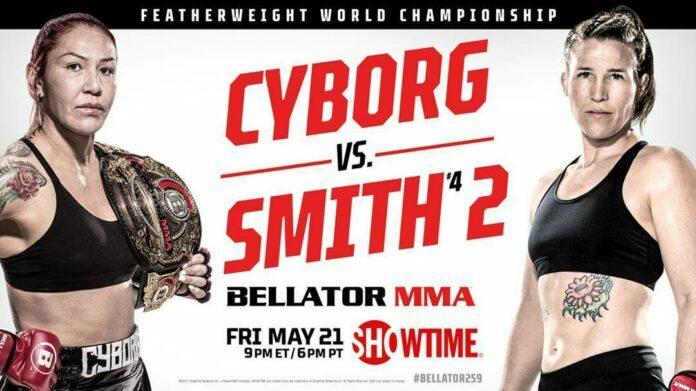 Bellator 259 weigh-ins