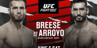 Tom Breese vs. Antonio Arroyo