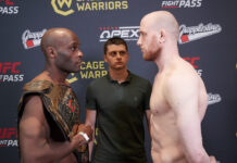 Cage Warriors 123 Results