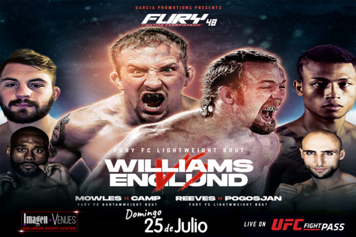 Fury FC 48 Results