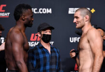UFC Vegas 33 Results