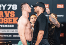Glory 78 Results